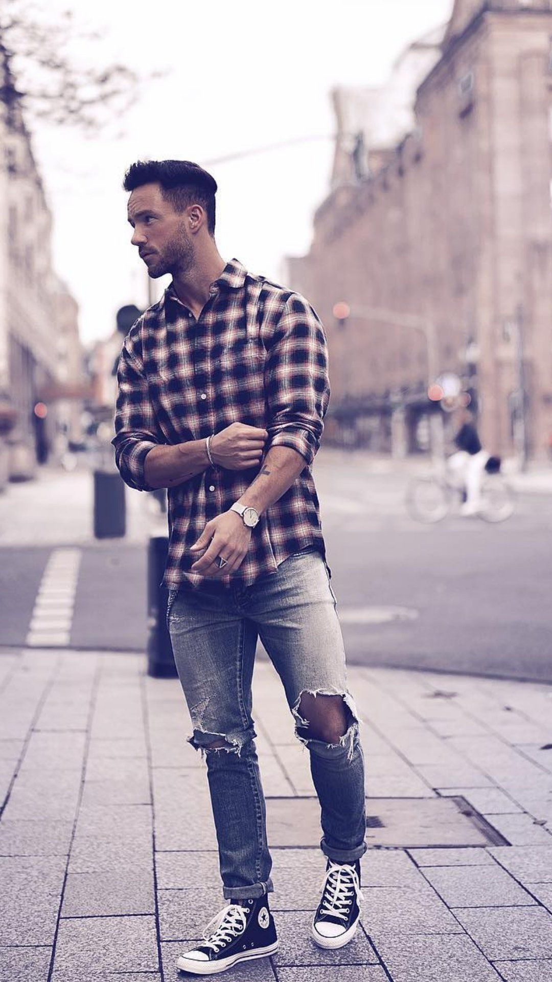 5 Coolest Check Shirt Outfits For Men in 2020 | Checked