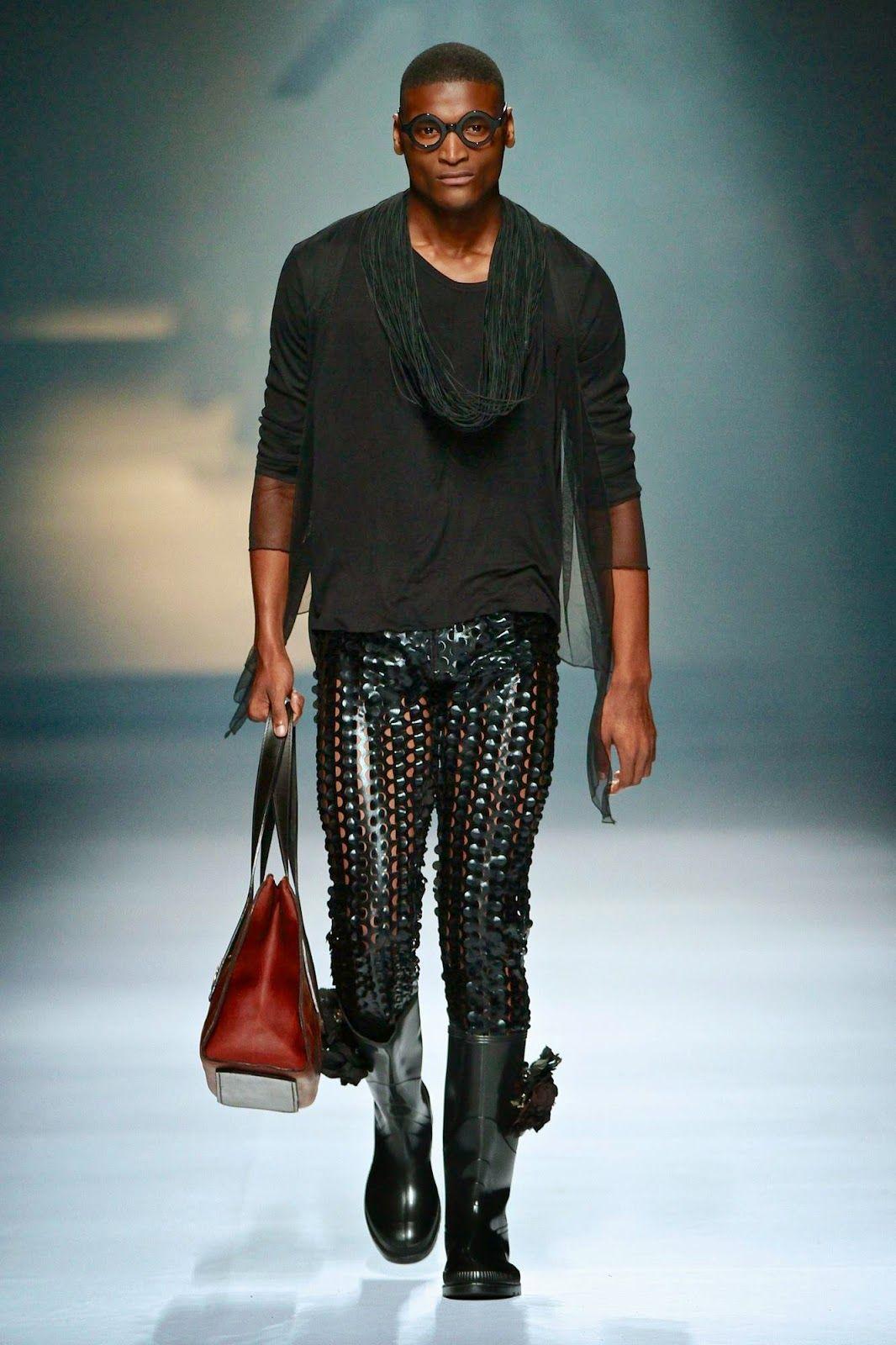 Male Fashion Trends: Ruald Rheeder Autumn/Winter 2014   Mercedes-Benz Fashion Week Joburg