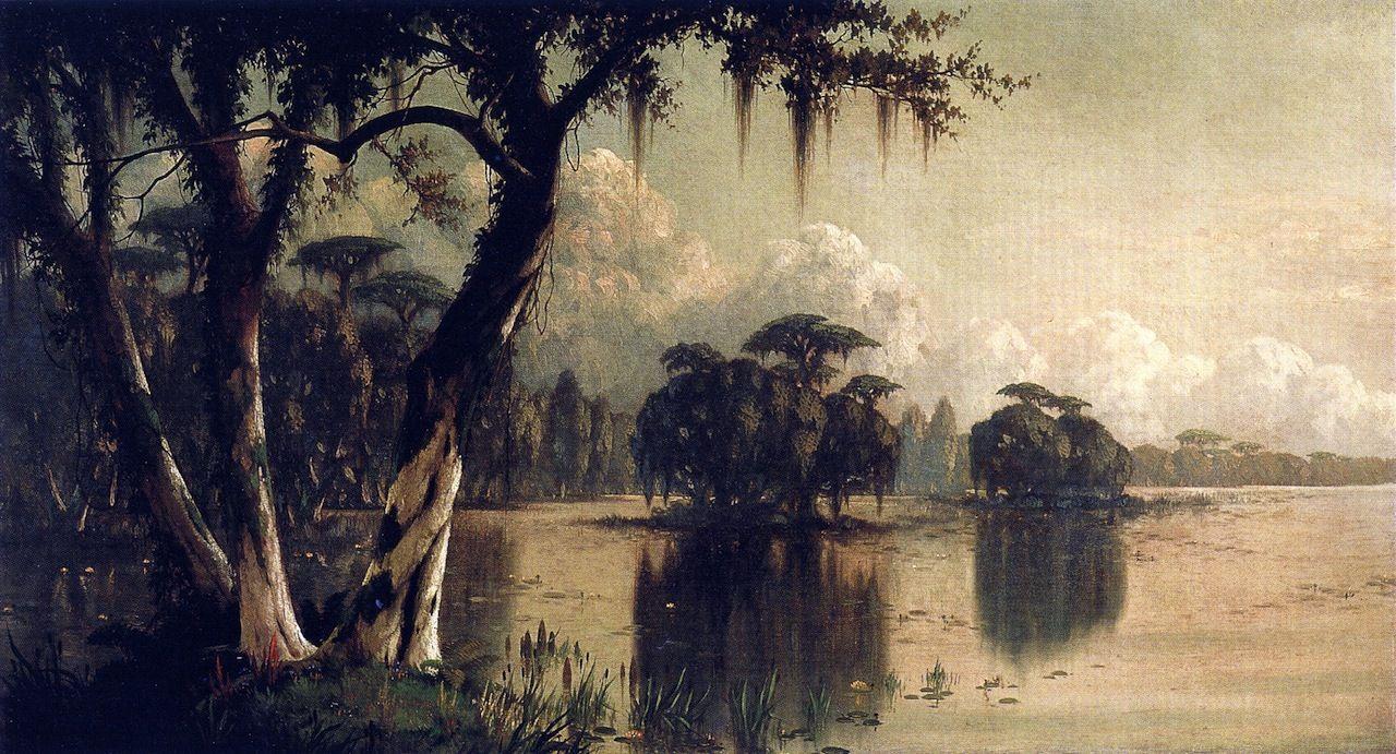 Achafalaya River (Joseph Rusling Meeker - )