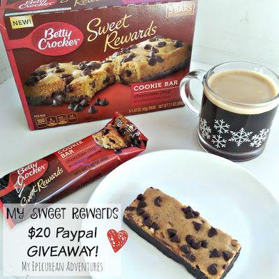 My Epicurean Adventures: Betty Crocker Sweet Rewards $20 Giveaway