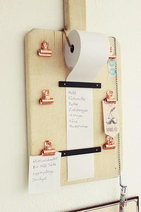 Organisateur de listes de courses, bricolage, vieille planche de bois,   – идеи для дома