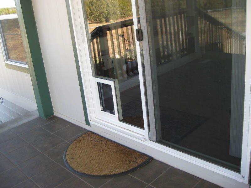 Patio Door With Built In Dog Door   LightHouseShoppe.com