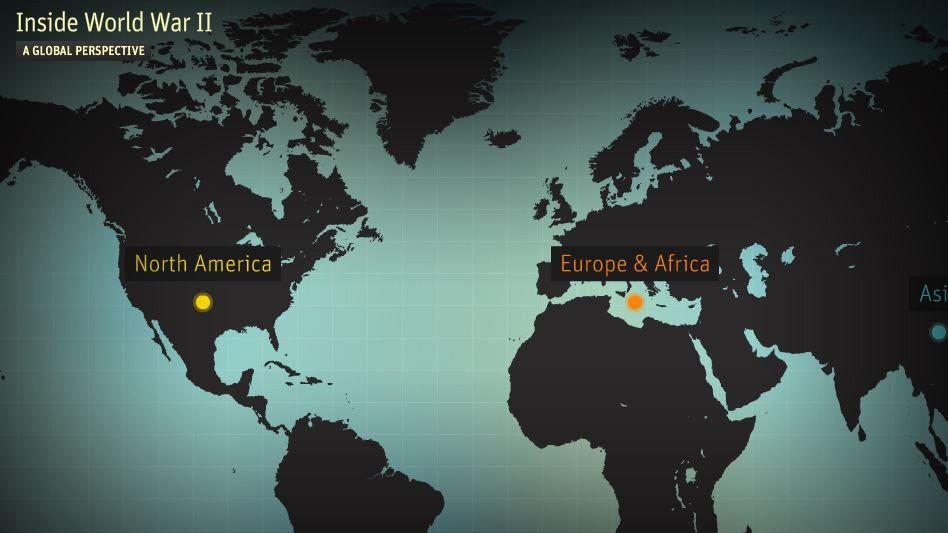 Website/Game: Inside WWII: investigate the World War through