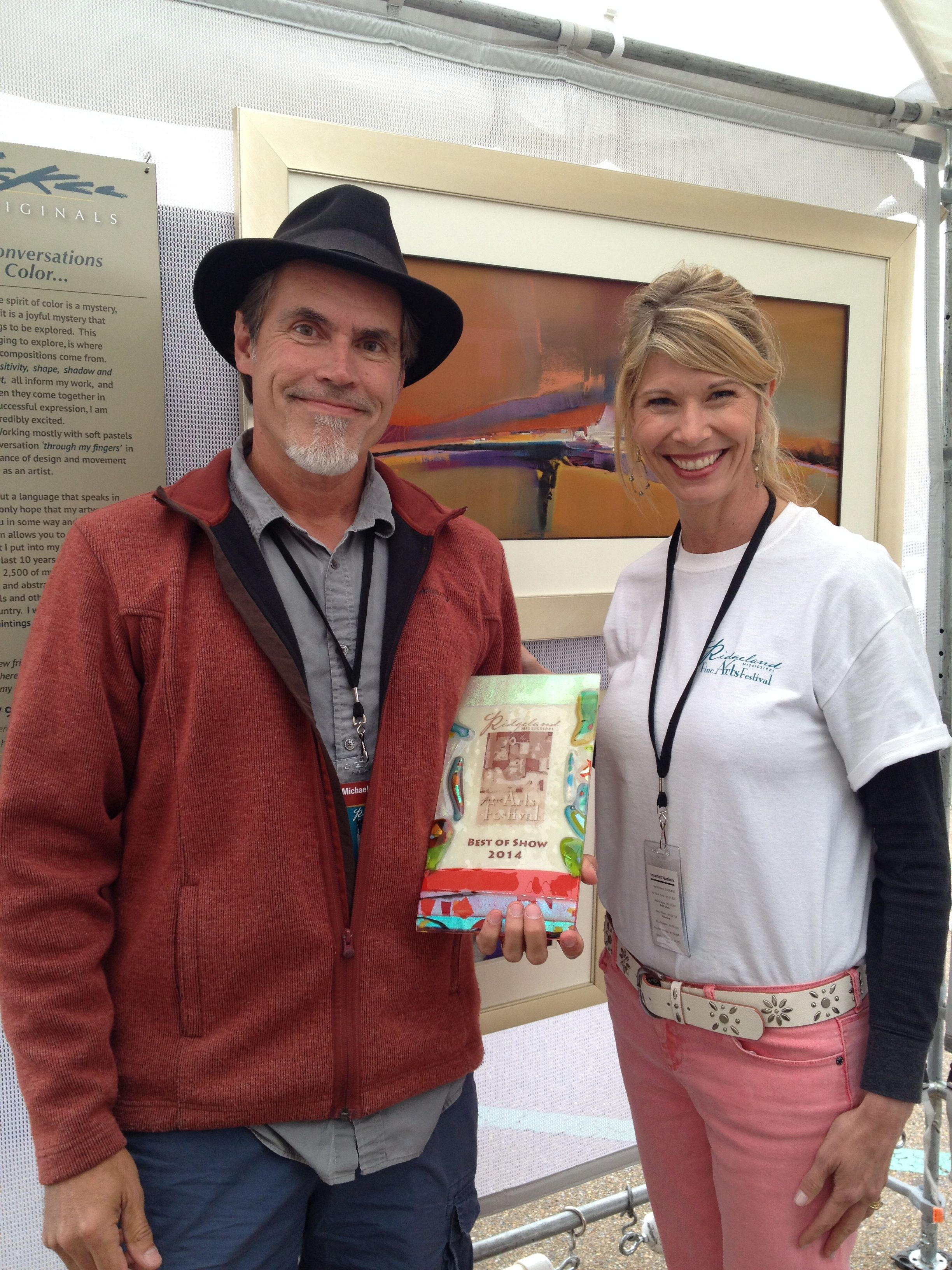 Overall Best Of Show Winner Specializing In Drawings Pastels Michael Mckee Art Festival Festival Cool Artwork