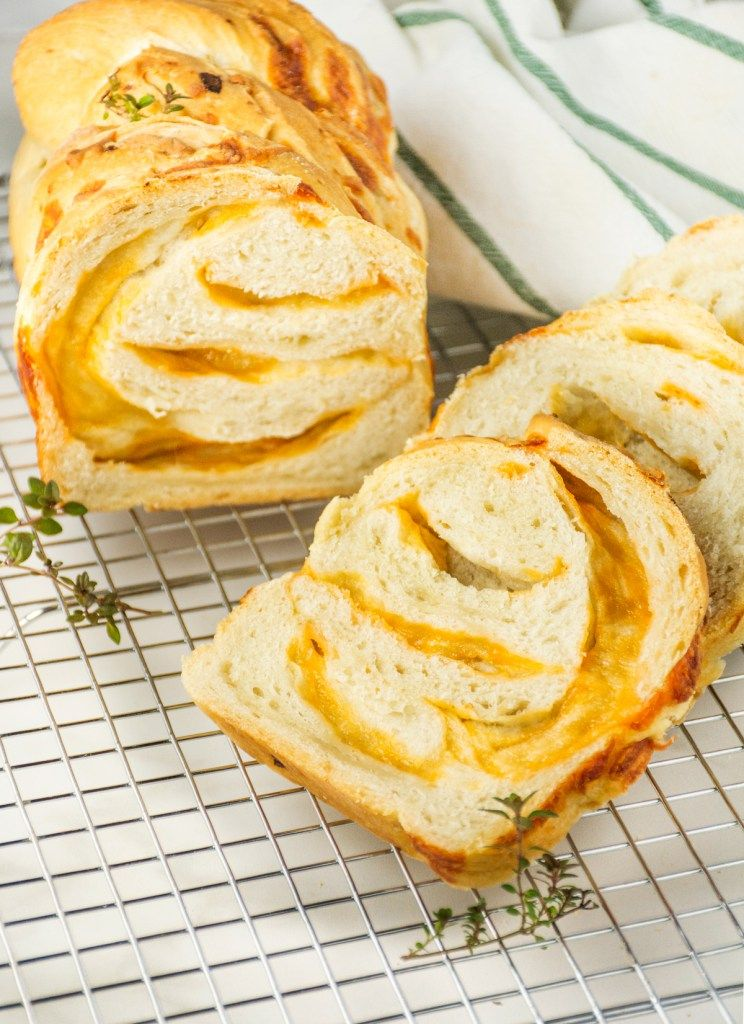 Caramelized Onion & Cheddar Bread Onion bread