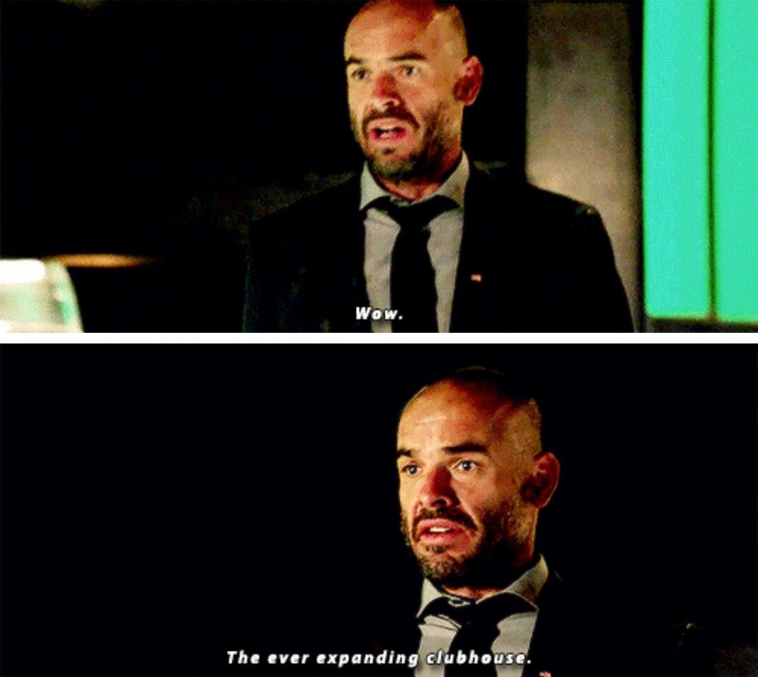 In which Quentin Lance is all of us. #Arrow #Season5 #5x04