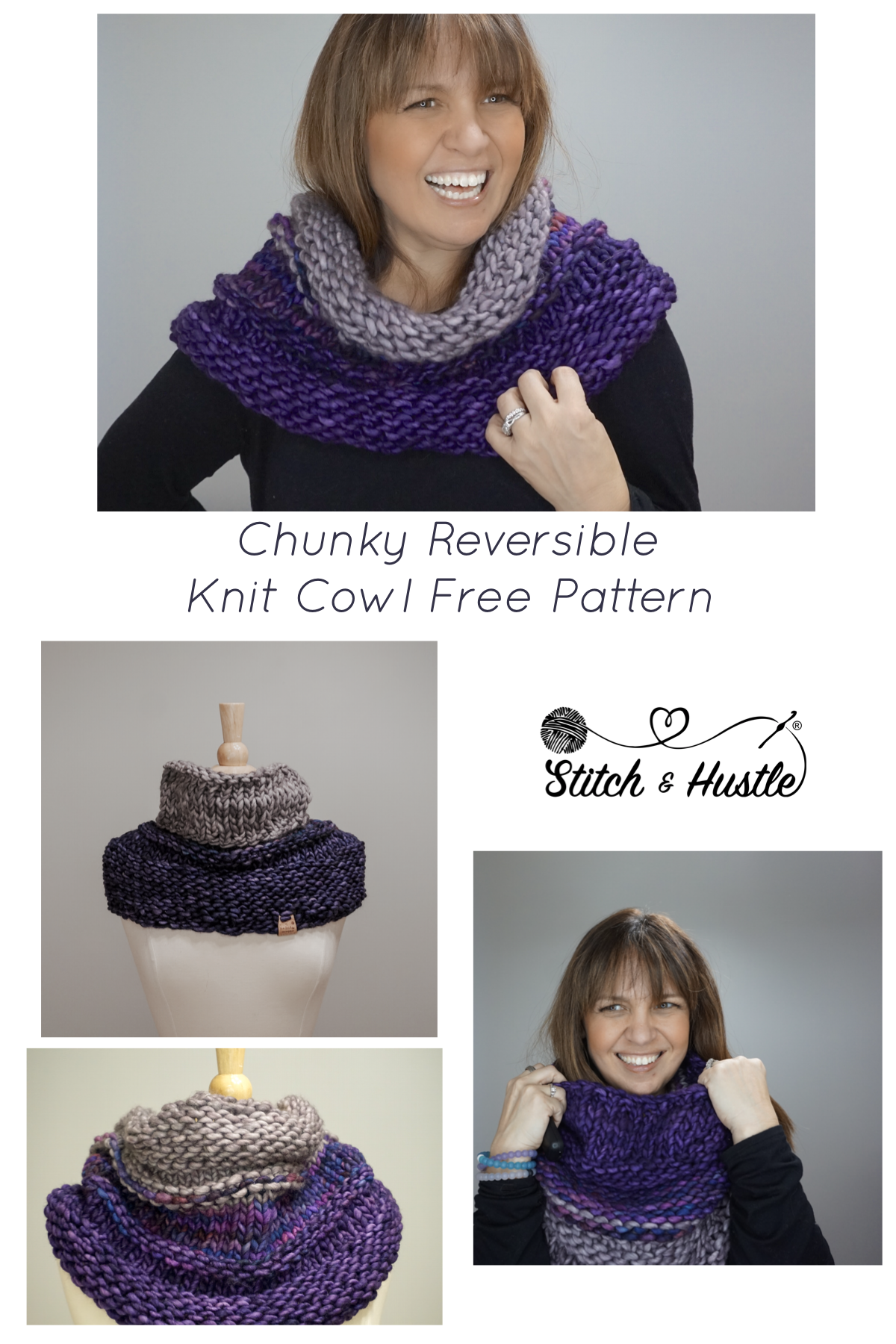 The Central Park Knit Cowl - Free Pattern | Knit cowl, Free pattern ...
