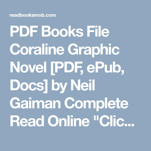 Pdf books file coraline graphic novel pdf epub docs by neil pdf books file coraline graphic novel pdf epub docs by neil gaiman fandeluxe Choice Image