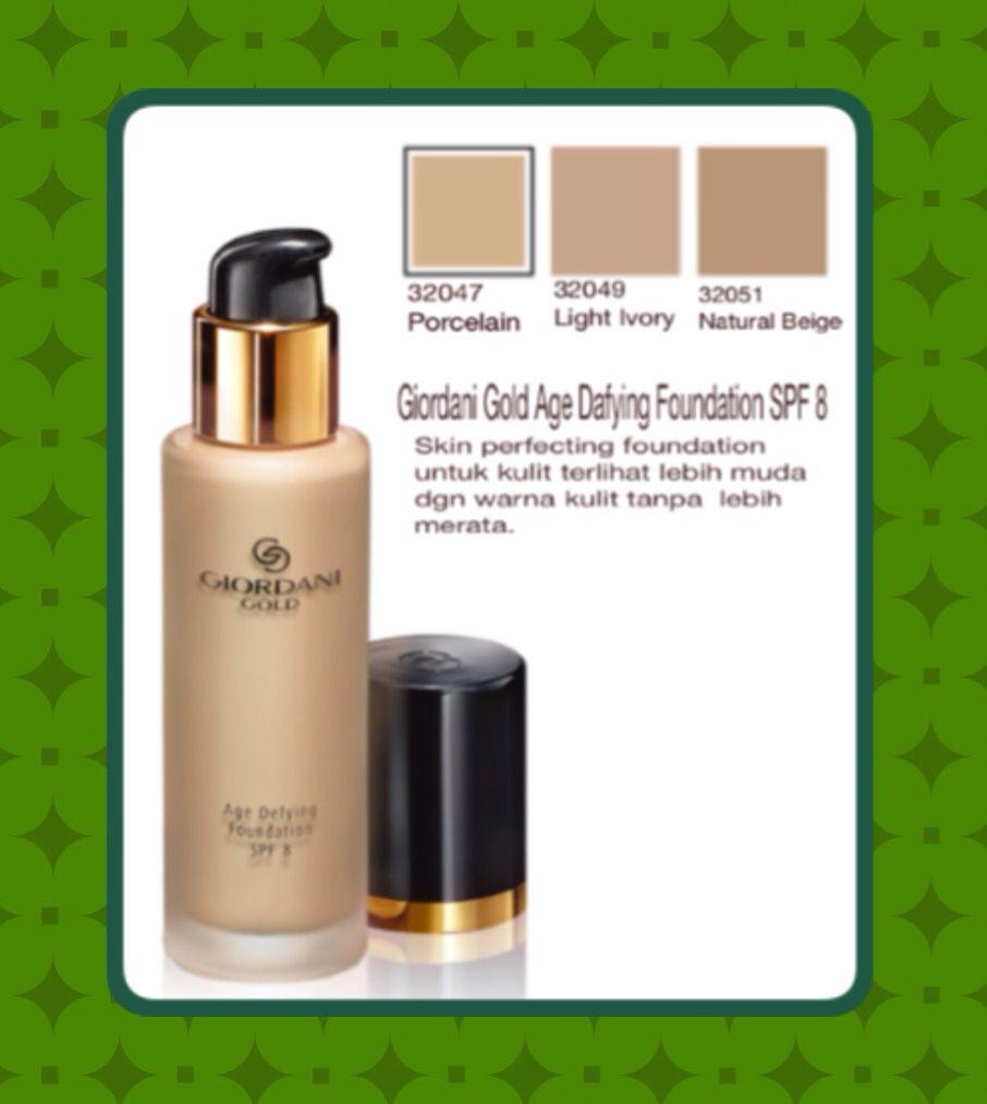 Mengunakan Giordani Gold Age Defying Foundation Spf 8 Menjadikan Cream Pemutih Badan Body Warna Kulit Tampak Remaja Dengan Hasil