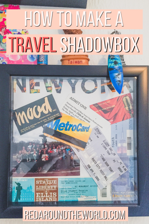 Diy Travel Shadow Box Ideas To Help Preserve Your Memories Travel Shadow Boxes Travel Collage Travel Decor