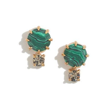 shimmerstone studs $20.00 at Madewell