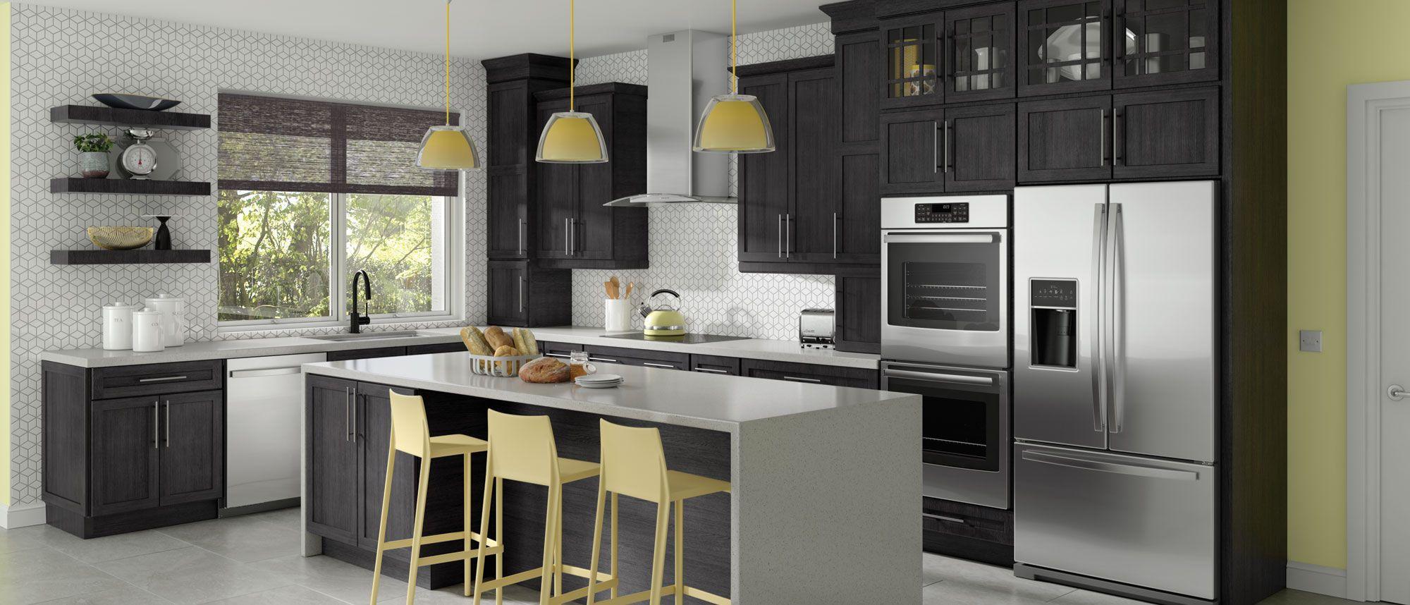 Builders choice new kitchen loft spaces