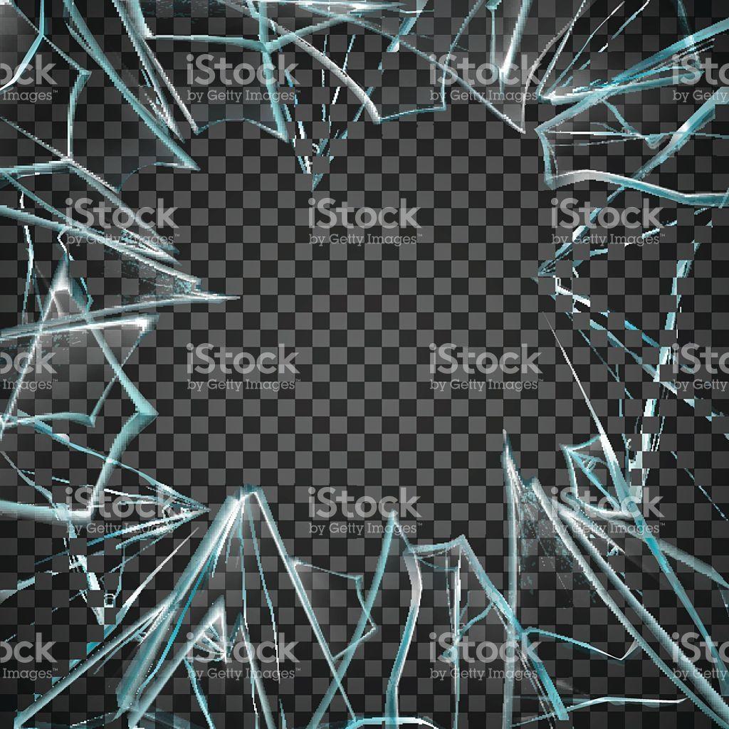782c1454fe33 Broken Glass Frame. Broken Glass Transparent. Glass Transparent ...