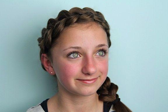 Wrap-Around Dutch Pancake Braid | Cute Braided Hairstyles ...