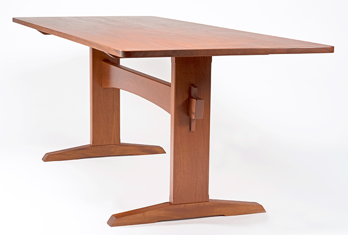 Riverdale Trestle Dining Table
