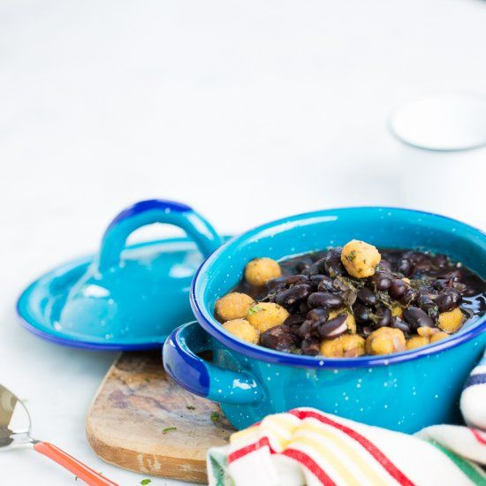 Mexican black bean soup with corn masa dumplingsin spanish and recipes mexican black bean soup with corn masa dumplingsin spanish and english forumfinder Choice Image
