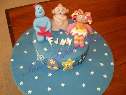 In The Night Garden Birthday cake with hand made fondant ...