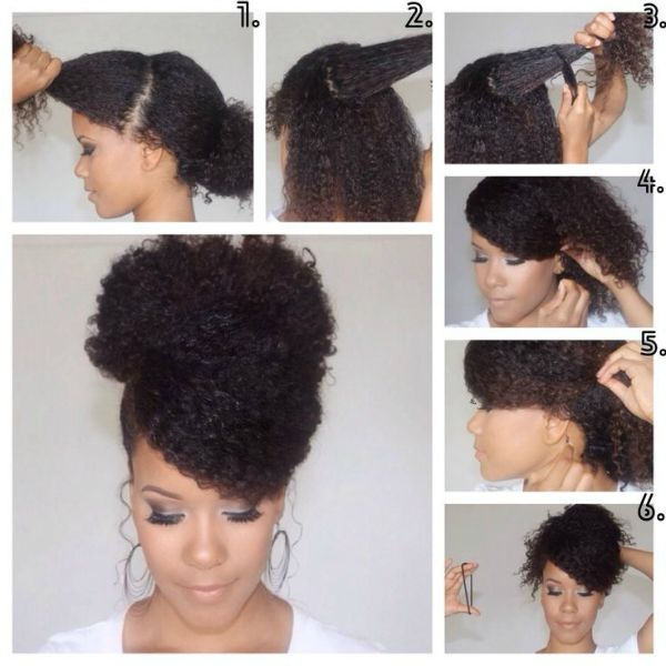 7 How To Romantic Natural Hairstyles For Wedding Black Natural