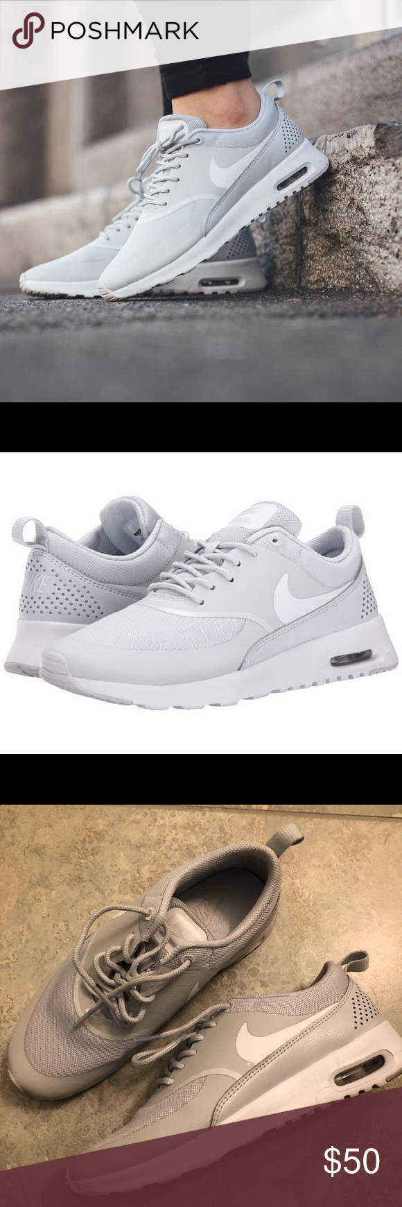 buy popular 1a8e0 92a47 Spotted while shopping on Poshmark  Air Max Thea!  poshmark  fashion   shopping  style  Nike  Shoes