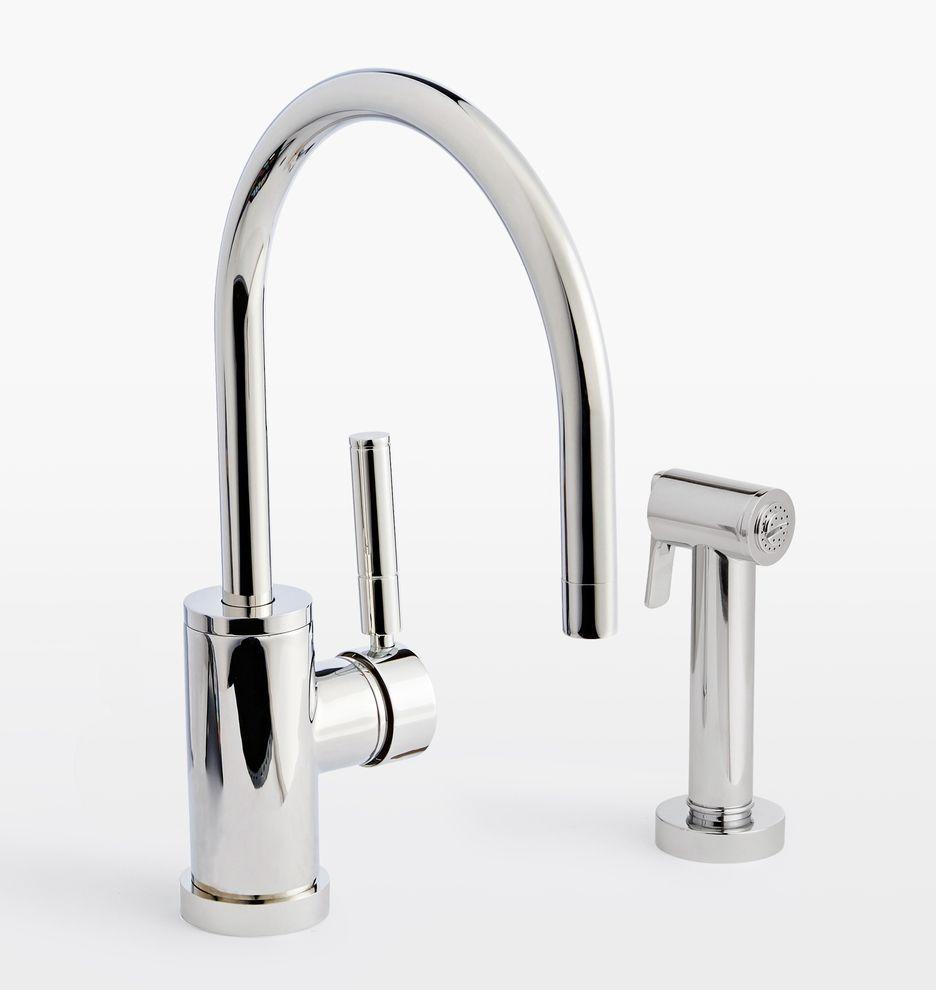 Everflow 17188 Kitchen Faucet With Spray High Arc Swivel Https Smile Amazon Com Dp B01bi6 Kitchen Faucet Kitchen Faucet With Sprayer Best Kitchen Faucets