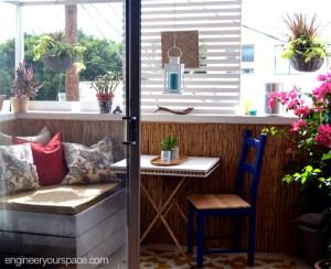 How to Transform Your Small Apartment Balcony into a Happy Space ...