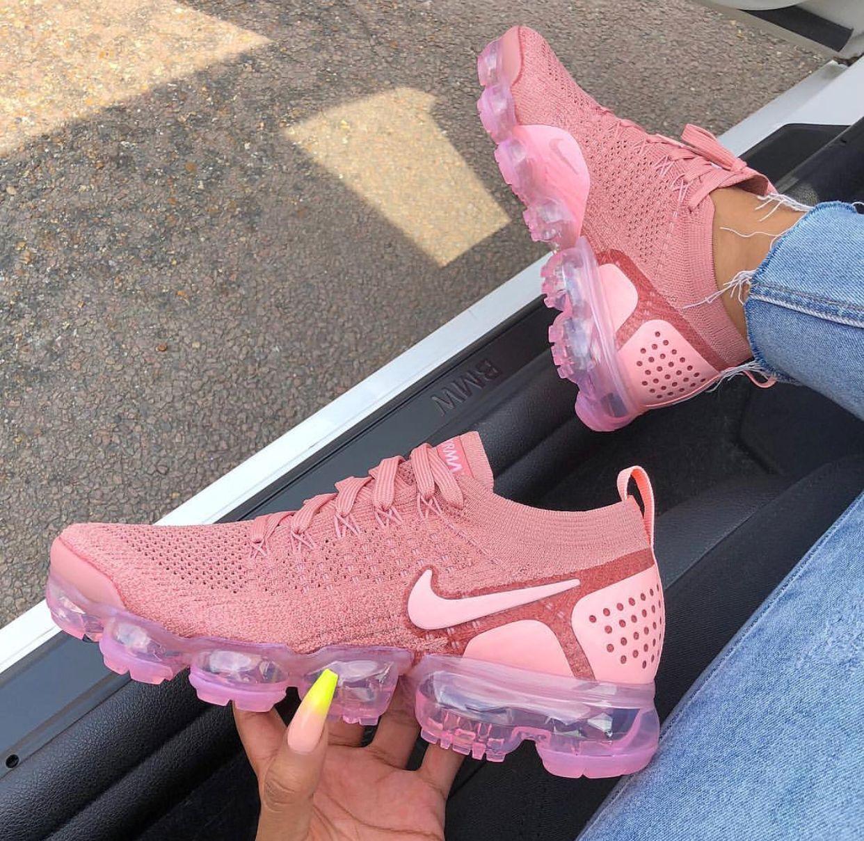 2bc7a39a3e Shoe: Nike vapormax   FOOTWEAR in 2019   Nike vapormax flyknit ...
