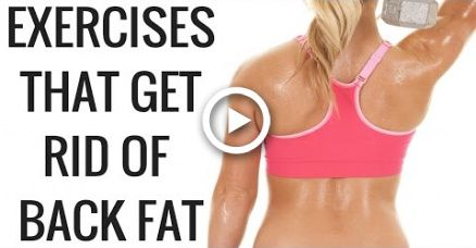 Exercises that Get Rid of Back Fat and Bra Overhang - Christina Carlyle #fitness