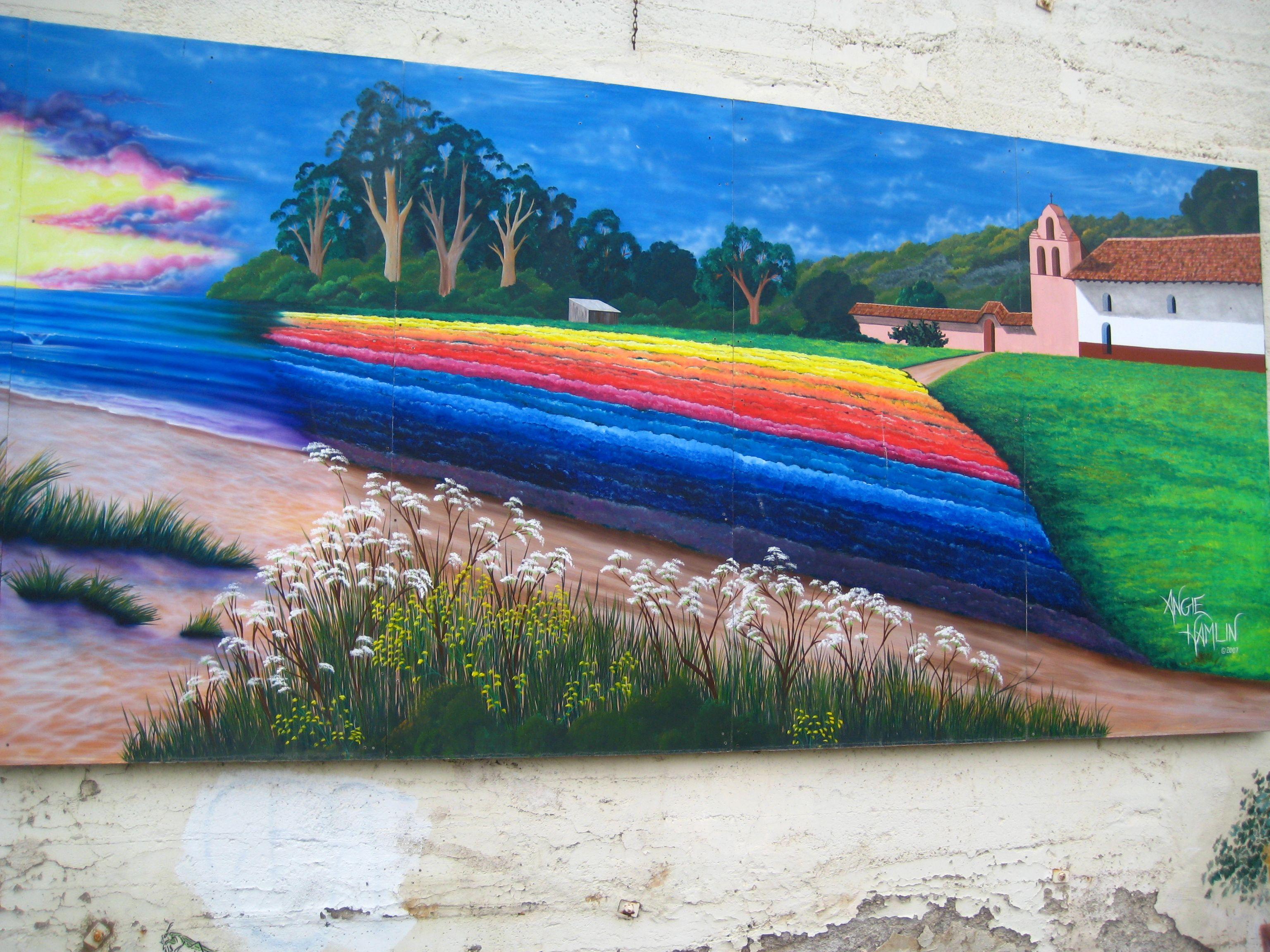 Art alley lompoc art mural