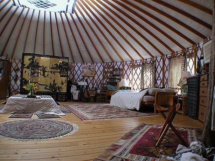 I Find Yurts Very Interesting And Would Love To See What It Feels Like To  Live