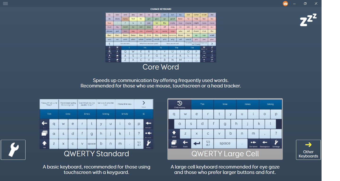 If you use Grid 3 Software, Alpha Core is one of the free