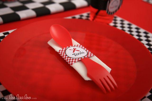 Race Car Birthday Party | CatchMyParty.com