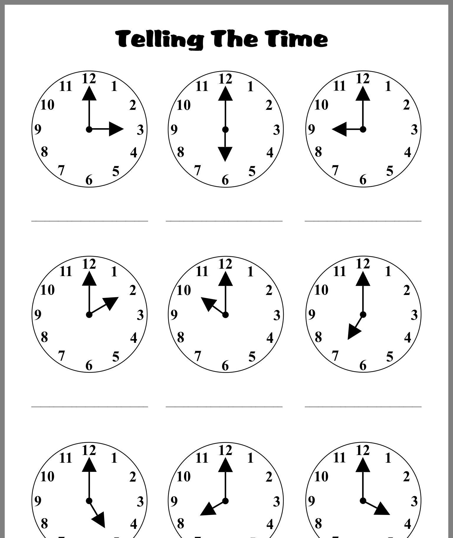 Time Worksheets Image By Helen Rees On Time