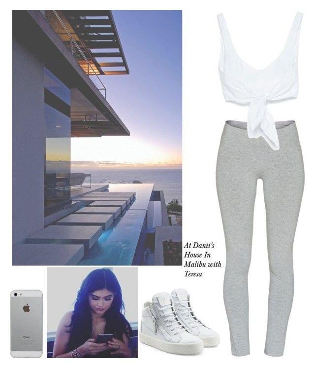 """At Danii's House In Malibu with Teresa"" by britneygeminigirl on Polyvore featuring TNA, Zara, Giuseppe Zanotti and Luvvitt"