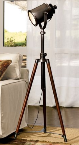 Light up your life tripod floor lamp and photographers photographers tripod floor lamp tripod lampbedside lampdiy solutioingenieria Image collections
