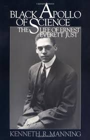 The picture above show the book that Kenneth R. Manning wrote about Ernest Everett Just