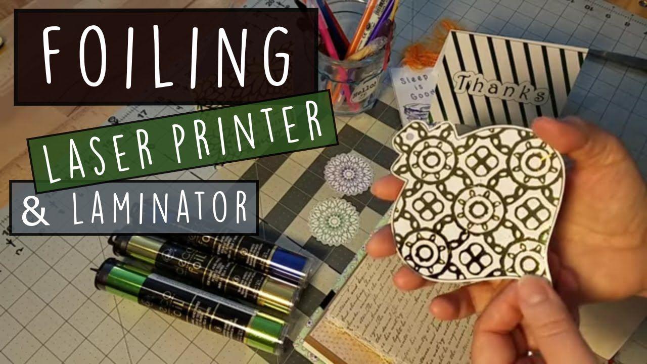 Pin On Foiling W Laminator