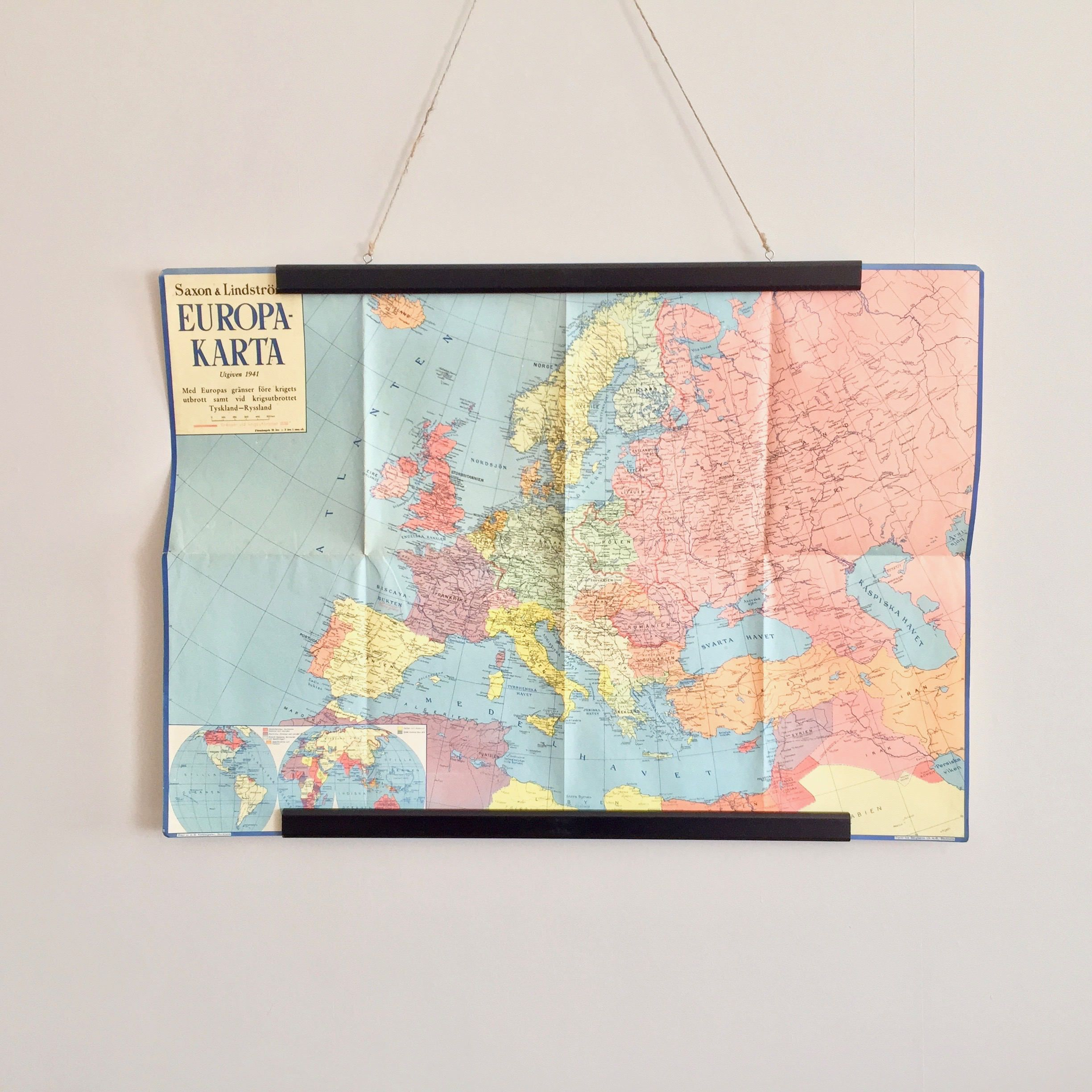 FREE WORLDWIDE SHIPPING Europe map of