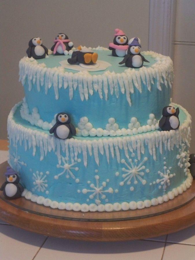 Winter One-derland — Children's Birthday Cakes