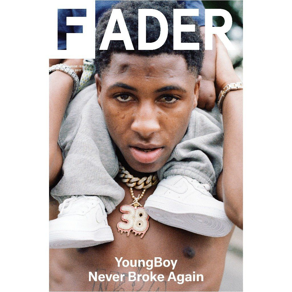 Youngboy Never Broke Again The Fader Issue 111 Cover 20 X 30 Poster French Montana Album French Montana Montana Quotes