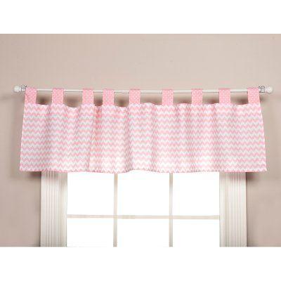 Trend Lab Pink Sky Window Valance - 100793