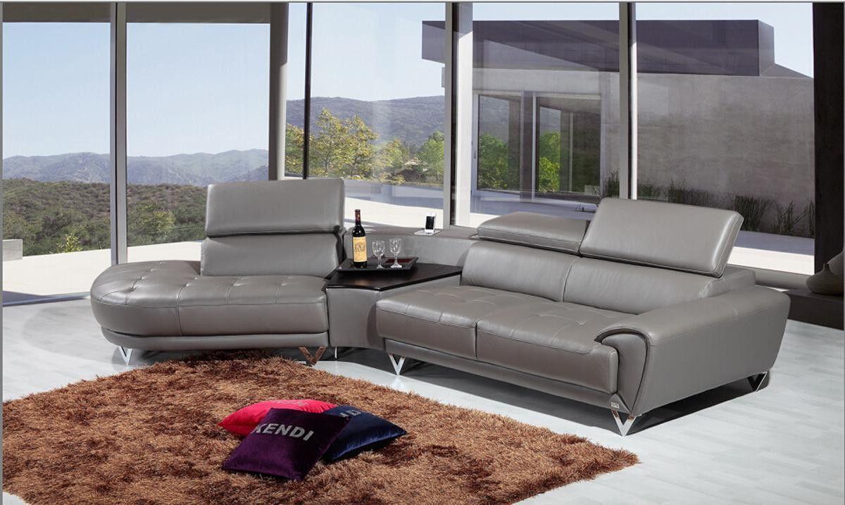 Sectional sofa set divani casa collection products pinterest