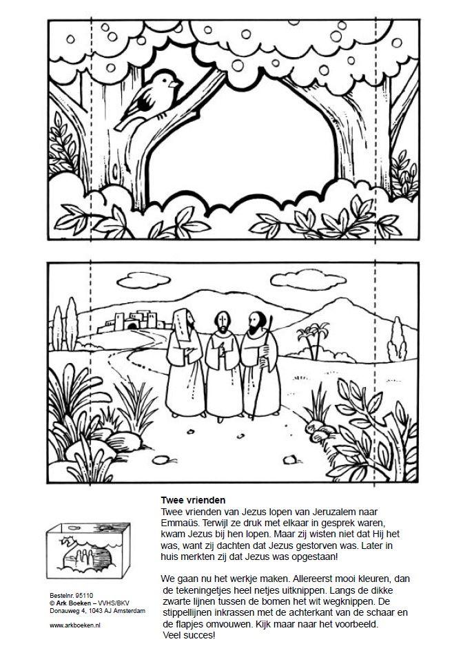Pin van Anita Hanekamp op Bijbel: knutsels Pasen
