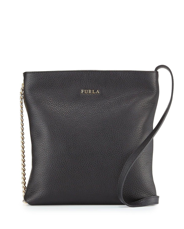 c7f8c660fc Furla Julia Small Leather Crossbody Bad