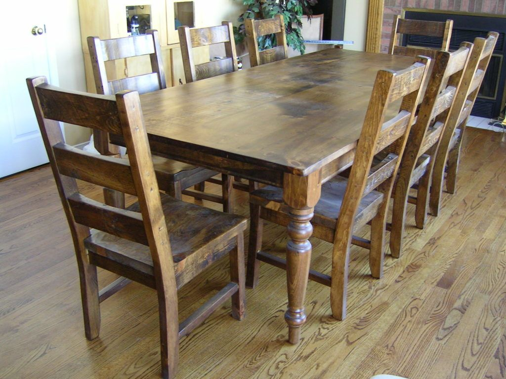Di010 Barnwood Harvest Table 40 X 96 L 30 H Le Hill Furniture