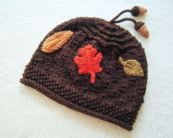 Childs Knit Hat - Hand Knit Baby Hat - Hand Knitted Childrens Hat - Chocolate Brown AUTUMN Hat (Newborn Baby to Adult sizes) Fall Fashion on Etsy, $65.00