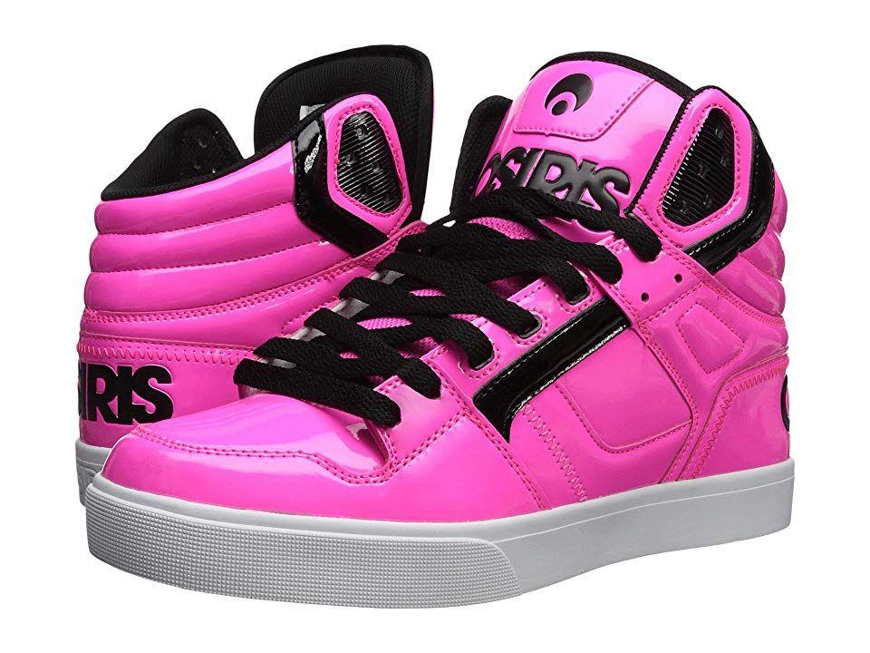 523bbf4ba28 Osiris Clone (Neon/Brights/Pink) Men's Skate Shoes. Step into a true ...