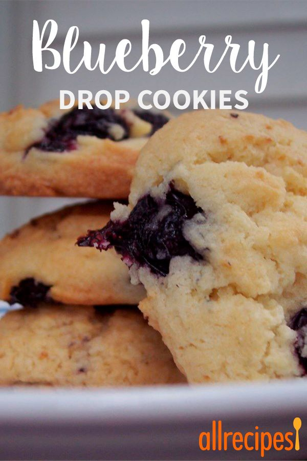 Blueberry Drop Cookies #favoriterecipes