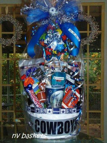 Football Dallas Cowboys Birthday | BIRTHDAY GIFT BASKETS ...