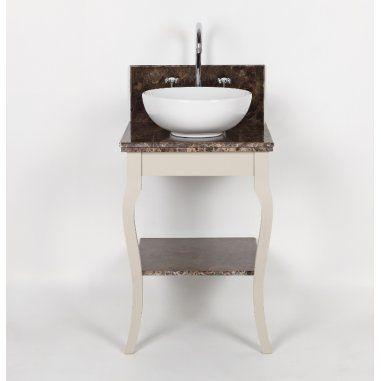 Albion Bath Company - Toscaanse Wandkast met Waskom : Een mooie Toscaanse stijl waskast.