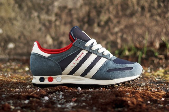 Adidas La Trainer Light Scarlet With Images Sneakers Red Sneakers Sneaker Boots